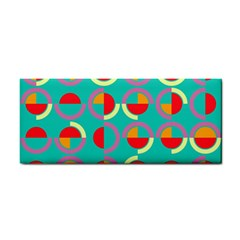 Semicircles And Arcs Pattern Cosmetic Storage Cases by linceazul