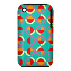 Semicircles And Arcs Pattern Iphone 3s/3gs by linceazul