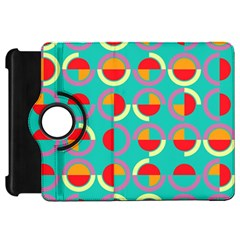 Semicircles And Arcs Pattern Kindle Fire Hd 7  by linceazul