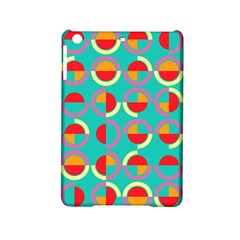 Semicircles And Arcs Pattern Ipad Mini 2 Hardshell Cases by linceazul