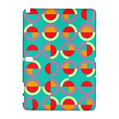 Semicircles And Arcs Pattern Galaxy Note 1 by linceazul