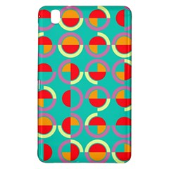 Semicircles And Arcs Pattern Samsung Galaxy Tab Pro 8 4 Hardshell Case by linceazul