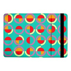Semicircles And Arcs Pattern Samsung Galaxy Tab Pro 10 1  Flip Case by linceazul