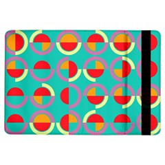 Semicircles And Arcs Pattern Ipad Air Flip by linceazul