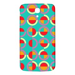 Semicircles And Arcs Pattern Samsung Galaxy Mega I9200 Hardshell Back Case by linceazul