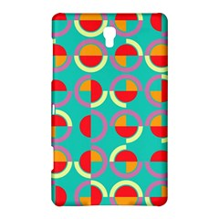 Semicircles And Arcs Pattern Samsung Galaxy Tab S (8 4 ) Hardshell Case  by linceazul