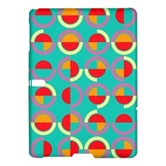 Semicircles And Arcs Pattern Samsung Galaxy Tab S (10 5 ) Hardshell Case  by linceazul