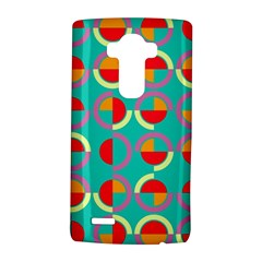 Semicircles And Arcs Pattern Lg G4 Hardshell Case by linceazul