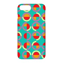 Semicircles And Arcs Pattern Apple Iphone 7 Plus Hardshell Case by linceazul