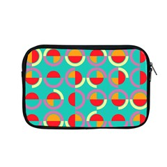 Semicircles And Arcs Pattern Apple Macbook Pro 13  Zipper Case by linceazul