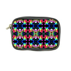 Colorful Bright Seamless Flower Pattern Coin Purse by Costasonlineshop