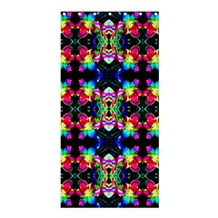 Colorful Bright Seamless Flower Pattern Shower Curtain 36  X 72  (stall)