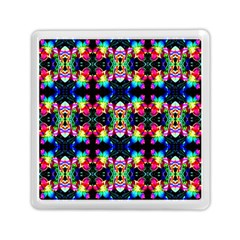 Colorful Bright Seamless Flower Pattern Memory Card Reader (square)  by Costasonlineshop