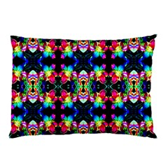 Colorful Bright Seamless Flower Pattern Pillow Case (two Sides) by Costasonlineshop