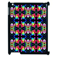 Colorful Bright Seamless Flower Pattern Apple Ipad 2 Case (black)