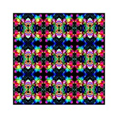 Colorful Bright Seamless Flower Pattern Acrylic Tangram Puzzle (6  X 6 ) by Costasonlineshop