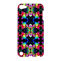 Colorful Bright Seamless Flower Pattern Apple Ipod Touch 5 Hardshell Case by Costasonlineshop
