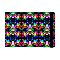 Colorful Bright Seamless Flower Pattern Apple Ipad Mini Flip Case