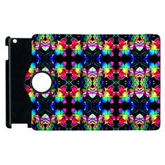 Colorful Bright Seamless Flower Pattern Apple Ipad 3/4 Flip 360 Case by Costasonlineshop