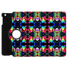 Colorful Bright Seamless Flower Pattern Apple Ipad Mini Flip 360 Case by Costasonlineshop