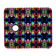 Colorful Bright Seamless Flower Pattern Galaxy S3 (flip/folio) by Costasonlineshop