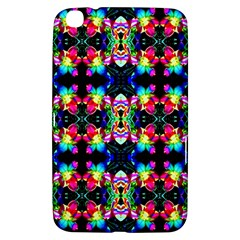 Colorful Bright Seamless Flower Pattern Samsung Galaxy Tab 3 (8 ) T3100 Hardshell Case