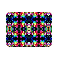 Colorful Bright Seamless Flower Pattern Double Sided Flano Blanket (mini)  by Costasonlineshop