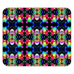 Colorful Bright Seamless Flower Pattern Double Sided Flano Blanket (small)  by Costasonlineshop