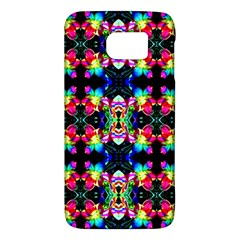 Colorful Bright Seamless Flower Pattern Galaxy S6