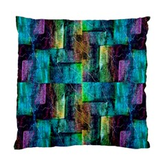 Abstract Square Wall Standard Cushion Case (one Side) by Costasonlineshop