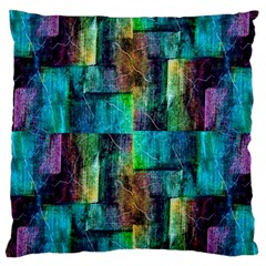 Abstract Square Wall Large Cushion Case (one Side) by Costasonlineshop