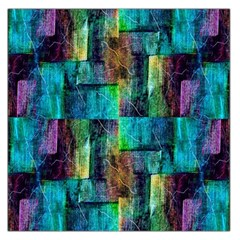 Abstract Square Wall Large Satin Scarf (square) by Costasonlineshop