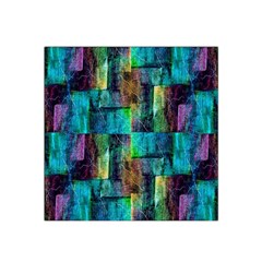 Abstract Square Wall Satin Bandana Scarf by Costasonlineshop