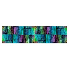 Abstract Square Wall Satin Scarf (oblong) by Costasonlineshop