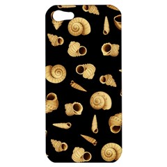 Shell Pattern Apple Iphone 5 Hardshell Case by Valentinaart