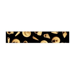 Shell Pattern Flano Scarf (mini) by Valentinaart