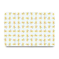 Spaceships Pattern Plate Mats by linceazul