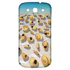 Shell Pattern Samsung Galaxy S3 S Iii Classic Hardshell Back Case by Valentinaart