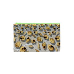 Shell Pattern Cosmetic Bag (xs) by Valentinaart