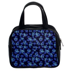 Autumn Leaves Motif Pattern Classic Handbags (2 Sides) by dflcprints