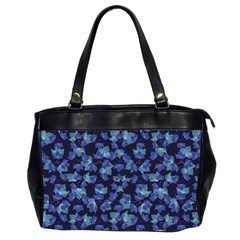 Autumn Leaves Motif Pattern Office Handbags (2 Sides)  by dflcprints
