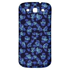 Autumn Leaves Motif Pattern Samsung Galaxy S3 S Iii Classic Hardshell Back Case by dflcprints