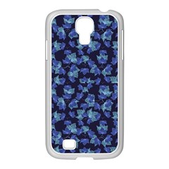 Autumn Leaves Motif Pattern Samsung Galaxy S4 I9500/ I9505 Case (white) by dflcprints