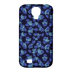 Autumn Leaves Motif Pattern Samsung Galaxy S4 Classic Hardshell Case (pc+silicone) by dflcprints
