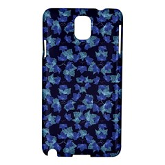 Autumn Leaves Motif Pattern Samsung Galaxy Note 3 N9005 Hardshell Case by dflcprints