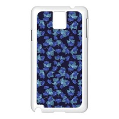Autumn Leaves Motif Pattern Samsung Galaxy Note 3 N9005 Case (white) by dflcprints