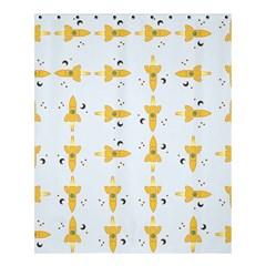 Spaceships Pattern Shower Curtain 60  X 72  (medium)  by linceazul