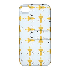 Spaceships Pattern Apple Iphone 4/4s Hardshell Case With Stand by linceazul