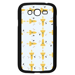 Spaceships Pattern Samsung Galaxy Grand Duos I9082 Case (black) by linceazul