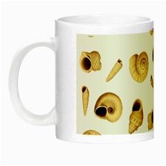 Shell Pattern Night Luminous Mugs by Valentinaart